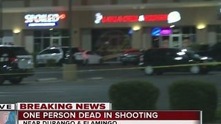 Person dies in shooting near Flamingo, Durango - Video