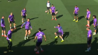 VIDEO: Zidane's son vs Cristiano Ronaldo in training - Video