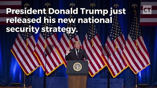 "Trump Unveils ""America First"" National Security Plan - Video"