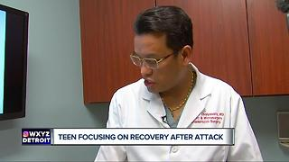 Teen Bit by Raccoon undergoes more surgery. - Video
