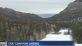 Lee Canyon opens for the season - Video
