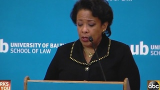 Loretta Lynch speaks about community policing - Video
