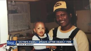 Arson victim's family stunned by father's death - Video