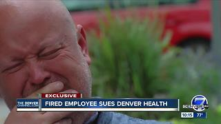Gay employee fired while looking into drug theft accuses Denver Health of discrimination - Video