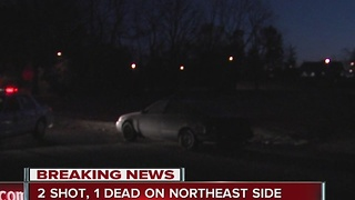 Double shooting on northeast side - Video