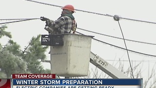 Winter Storm Preparations Underway