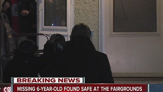 Missing 6-year-old found safe at State Fairgrounds - Video