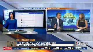 Facebook Poll: Is parking too expensive for Golden Knights games? - Video