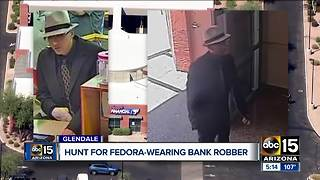 FBI searching for Glendale bank robbery suspect