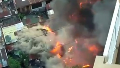 Dozens of Families Left Homeless by Quezon City Blaze
