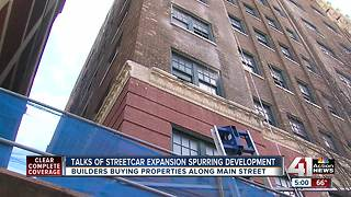Potential for streetcar extension spurs growth on Main Street - Video