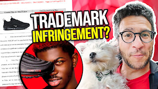 "Nike Sues Lil Nas X over ""Satan Shoes"" - Lawyer Explains - Viva Frei Vlawg"