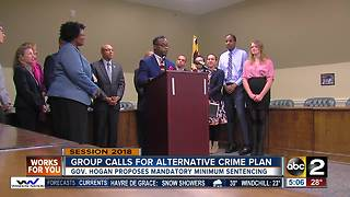 Group opposes Governor Hogan's proposed crime bills - Video