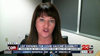 Public Health discusses expanded list of COVID-19 vaccine eligibility