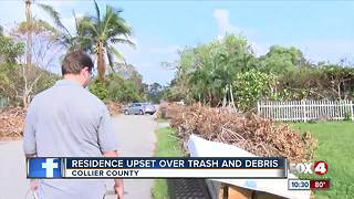 Residents growing impatient with storm debris removal - Video