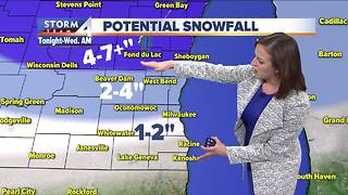 Winter Weather Advisory for parts of SE Wis. - Video