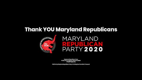 A Message from MDGOP Chairman Dirk Haire