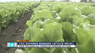 Latest E. coli outbreak warning expands to all romaine lettuce: 'Throw it away,' CDC says