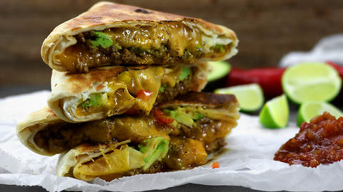 How to make spicy tortilla toasties