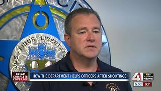 How the department helps officers after shootings - Video