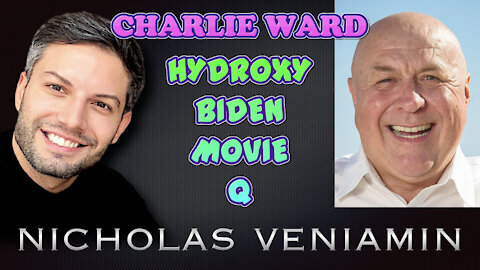 Charlie Ward Discusses Hydroxy, Biden, Movie and Q with Nicholas Veniamin