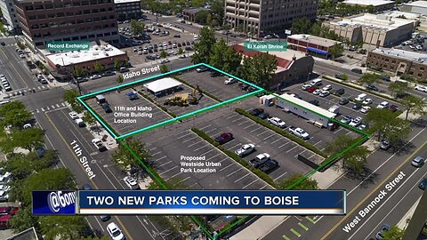 Two new parks coming to Boise, one right downtown