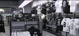 A look inside the new Raiders Image store