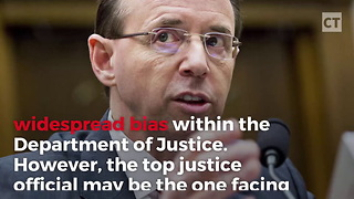 Trump Gives Blistering Response About AG Rosenstein - Video