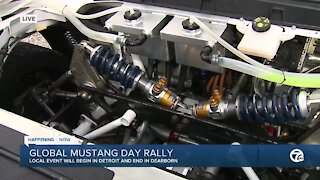 Global Mustang Rally Day
