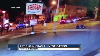 Pedestrian struck in MKE hit-and-run accident - Video
