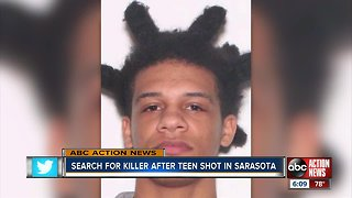Search for suspect in Sarasota shooting