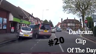 Dashcam Clip Of The Day #20 - World Dashcam - Toyota Van Crashes In Parked Car