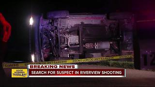 Overnight shooting leads to serious crash in Riverview - Video
