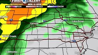 Heavy rain on the way - Video