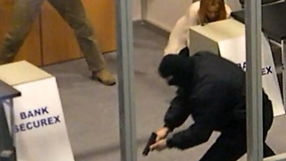 Bank robbery  - Video