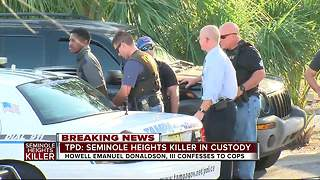 TPD: Seminole Heights suspect arrested - Video