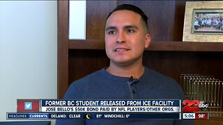 Former BC student released from ICE facility