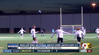 Moeller soccer wins sectional match against Lakota East - Video