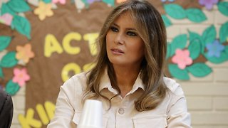 First Lady Melania Trump Visits Child Detention Center - Video