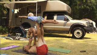 Nomadic Yoga Family Travel The World By RV - Video