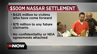 Michigan State will pay $500 million to Nassar survivors in settlement - Video
