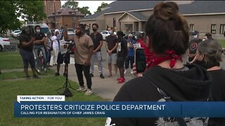 Protesters criticize Detroit Police Department after recent shootings