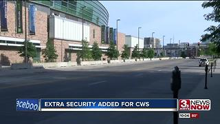 Extra security added for College World Series - Video