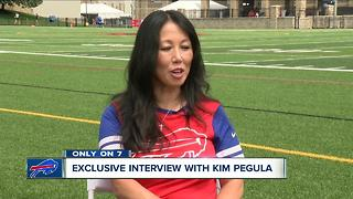 Exclusive one on one interview with Bills owner Kim Pegula - Video