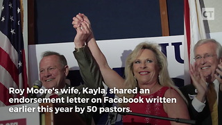 Letter Supporting Moore Resurfaces