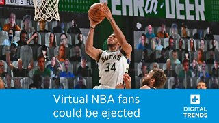 Virtual NBA Fans Could Be Ejected