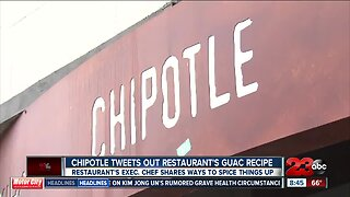Chipotle tweets out restaurant's guac recipe