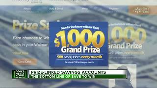 Save to win: Banks hope to draw customers with prize-linked savings accounts - Video