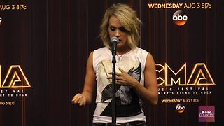 Carrie Underwood talks about hosting the CMA Awards | Rare Country - Video