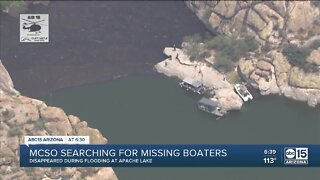 MCSO search for missing boaters